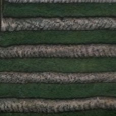 Low Density (LD) - Dowel -  1.25 Diameter -  13  Length - Color 1038 Green Charcoal